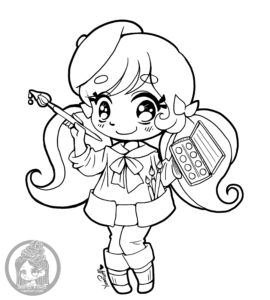 Little Artist Chibi, inspired by Macoto Takahashi