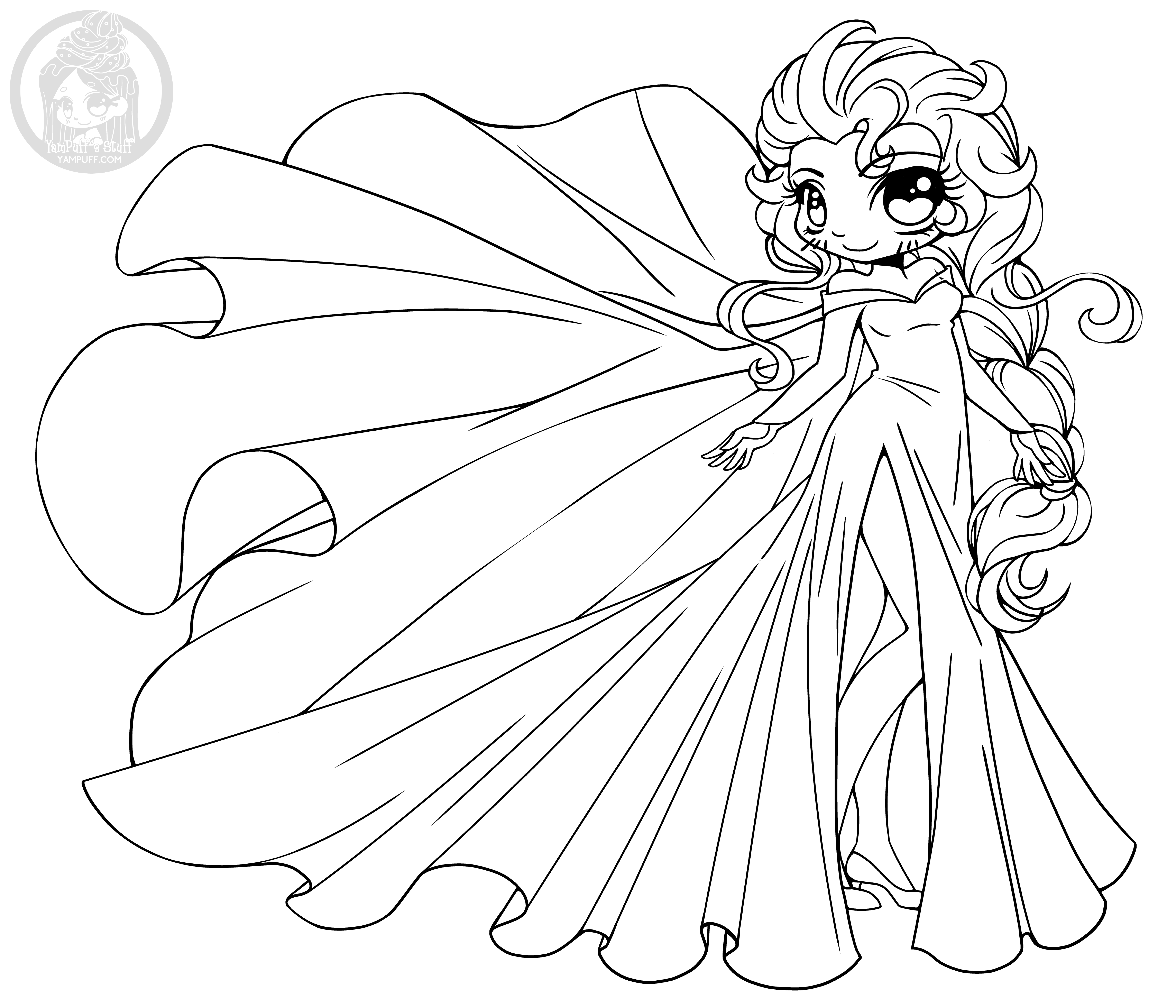 - Chibi Disney Characters Coloring Pages - Coloring Ideas