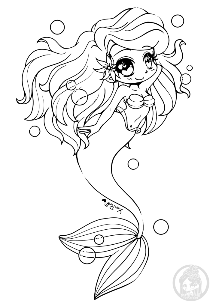 Fanart Free Chibi Colouring Pages