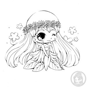 Chibis Free Chibi Coloring Pages YamPuffs Stuff