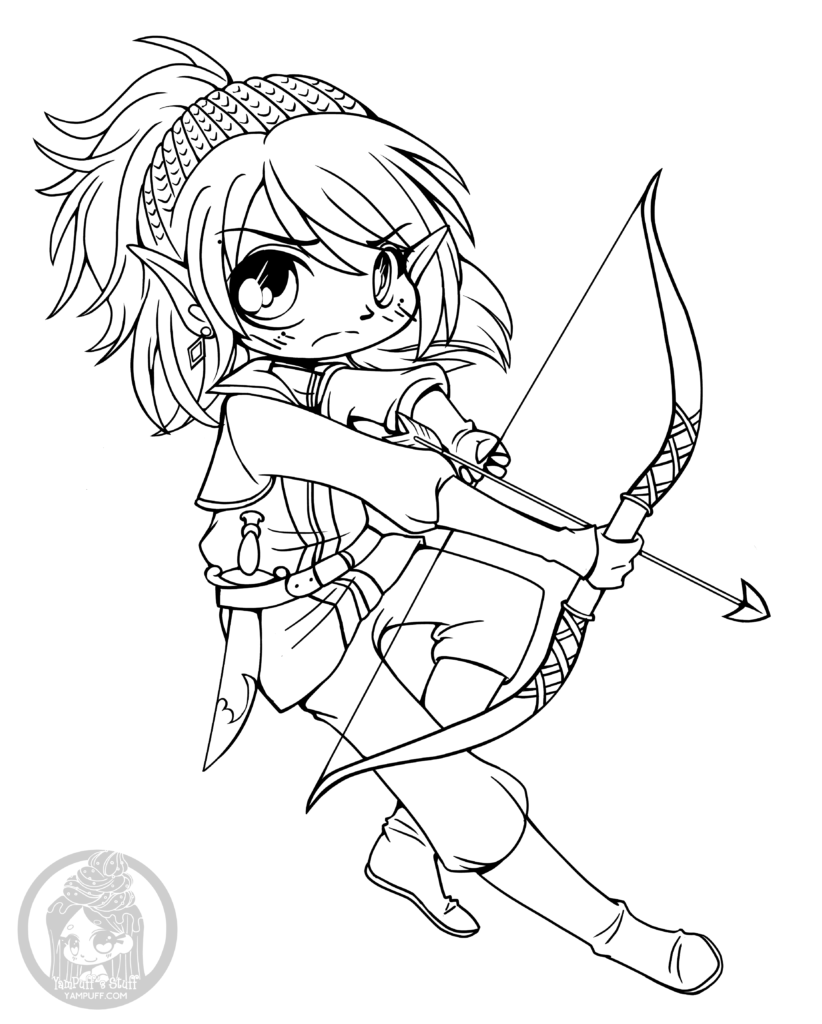 anime coloring pages deviantart photoshop - photo#22