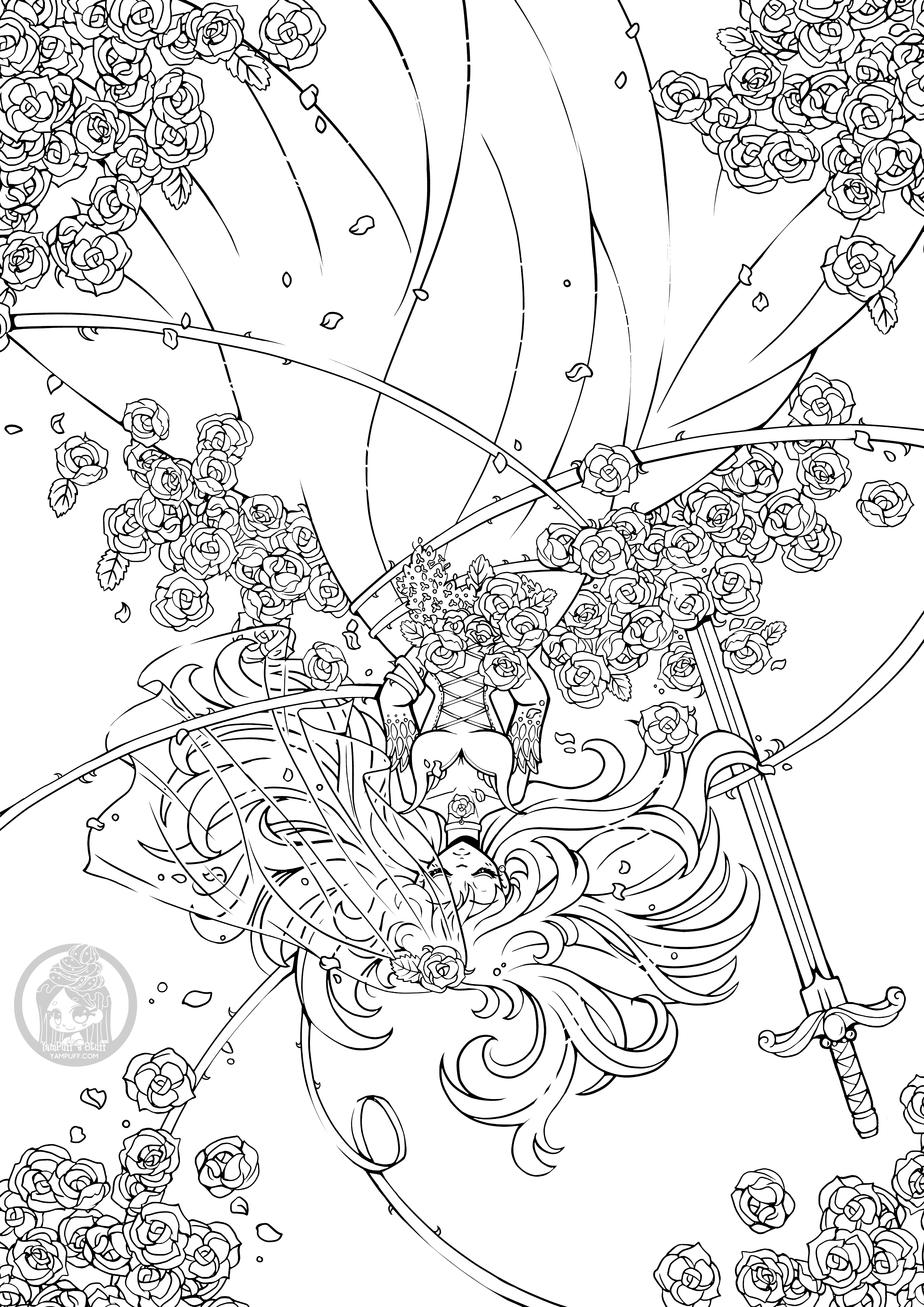Other - YamPuff Coloring Pages • YamPuff's Stuff