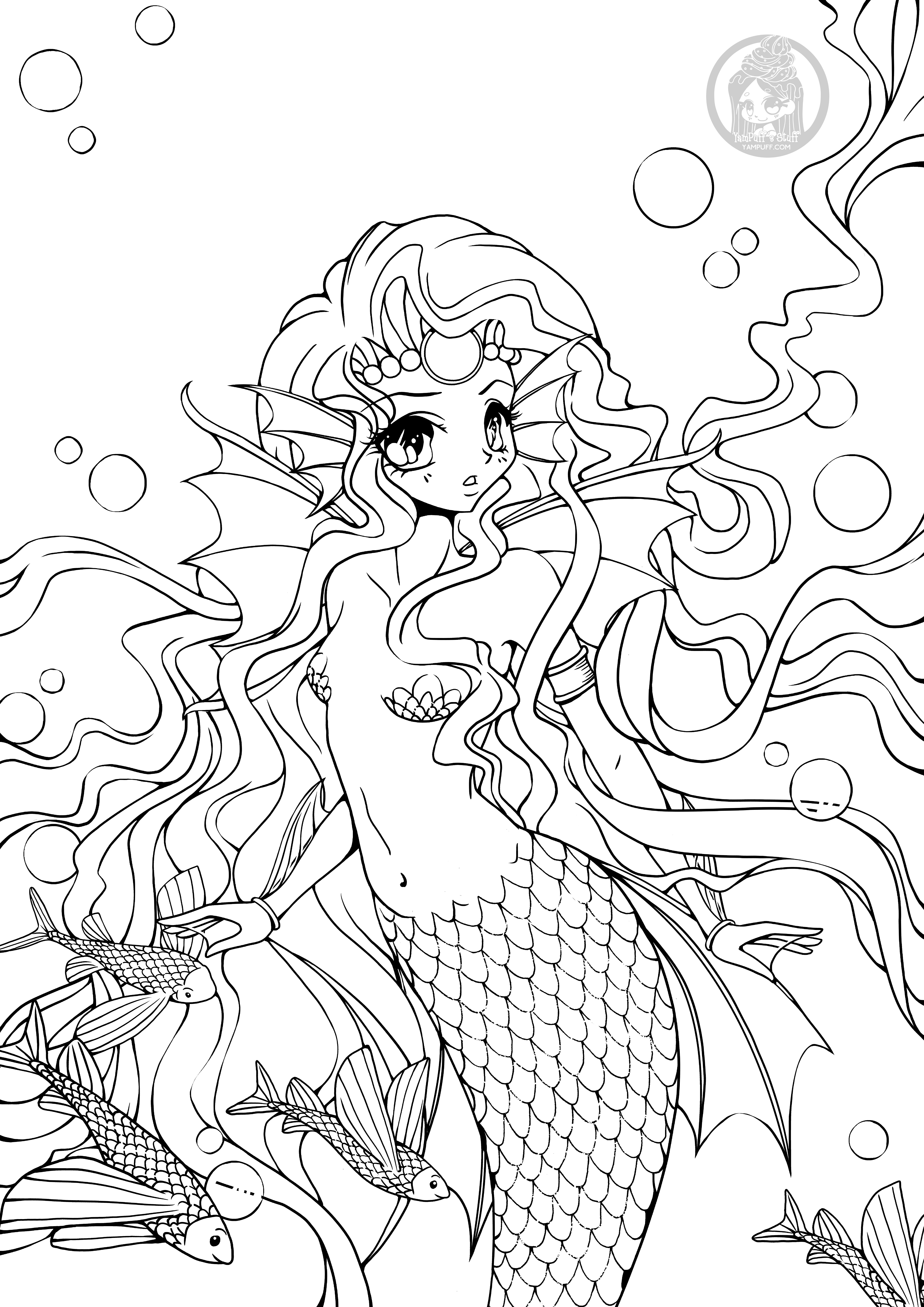Other YamPuff Coloring Pages