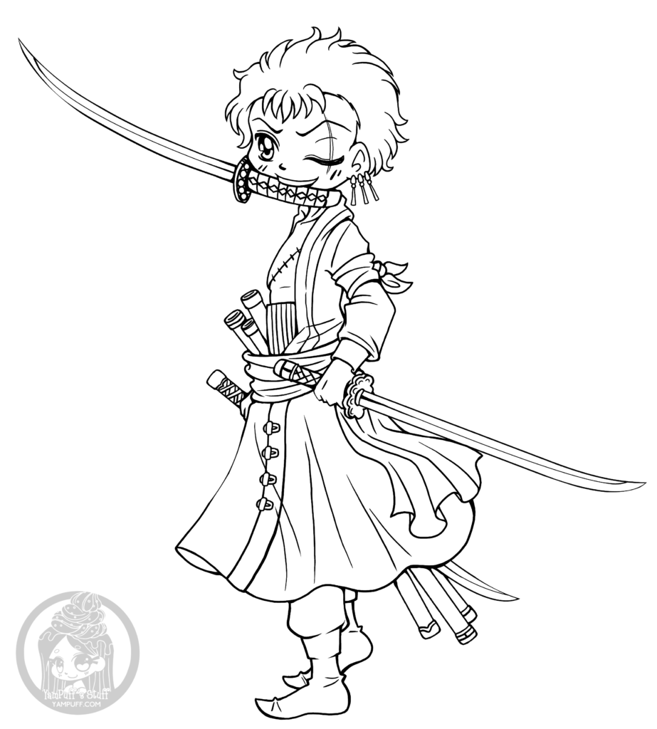 Zoro Lineart : Top fox coloring pages nice colorings design gallery