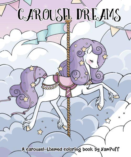 Carousel Coloring Book0000-1