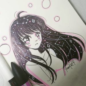 Inktober 2017 Illustration by YamPuff
