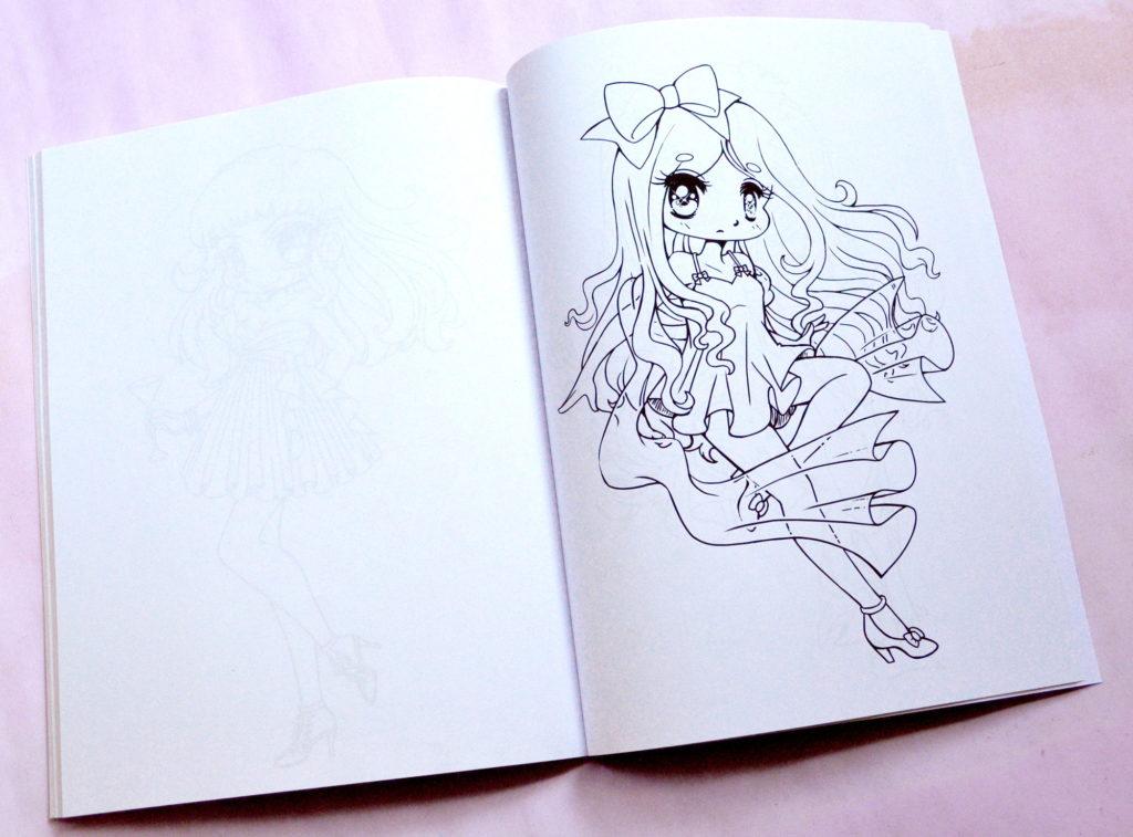 YamPuff\'s Stuff: A Kawaii Coloring Book of Chibis and Cute Girls ...