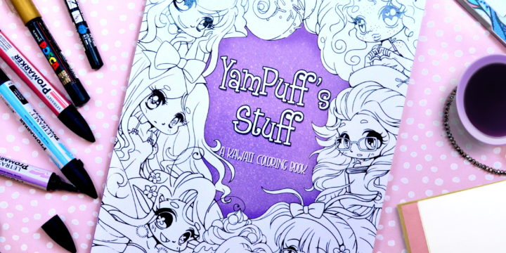YamPuff's Stuff: My New Coloring Book!