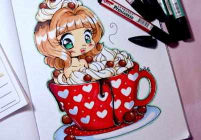 Hot Cocoa Chibi – Speed Coloring Video
