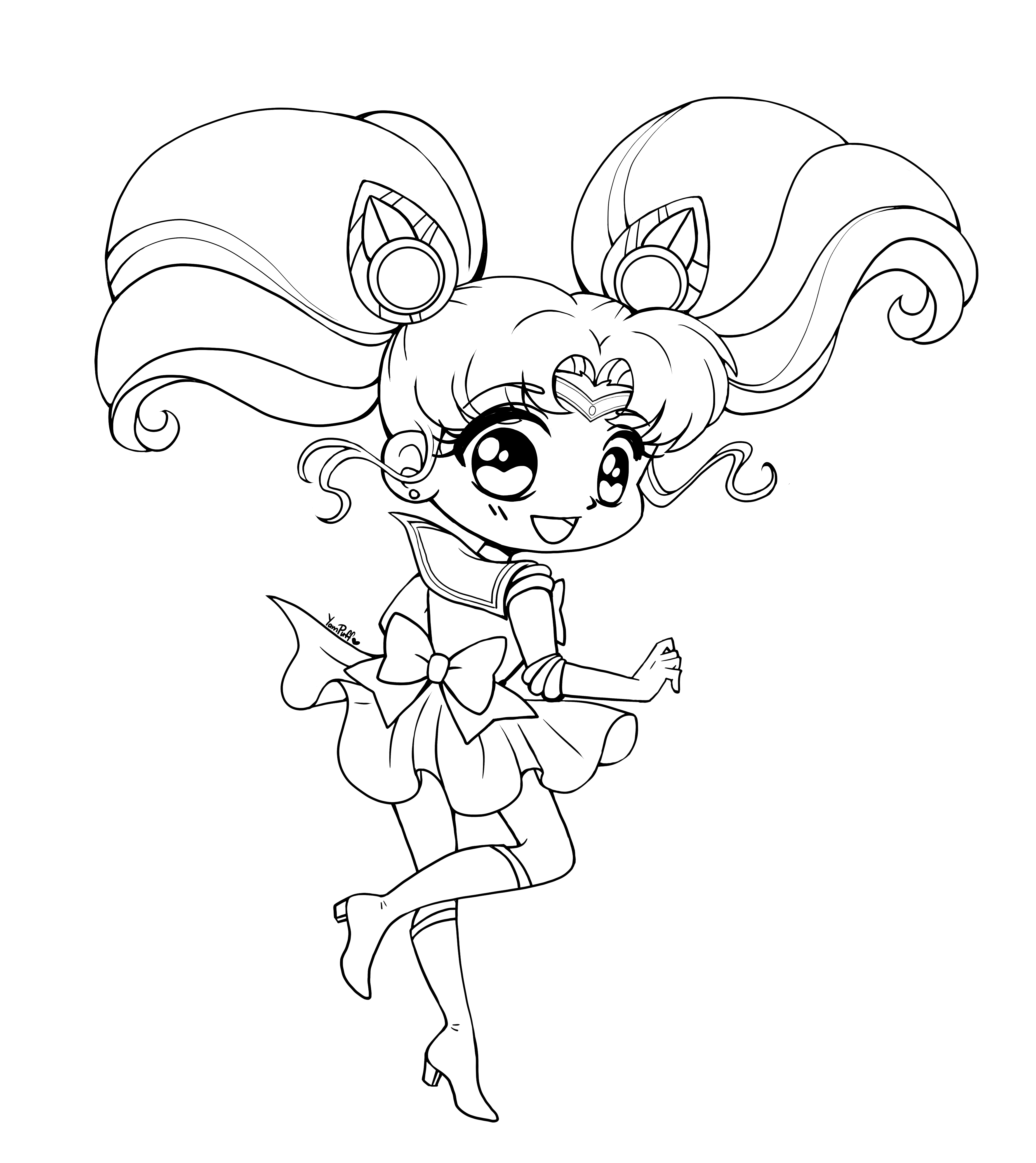 SAILOR MOON coloring pages - Coloring pages - Printable Coloring ... | 5144x4584