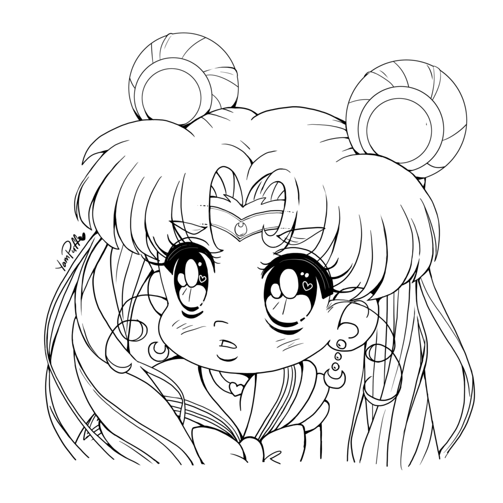 Free Sailor Moon Printable Coloring Pages, Download Free Clip Art ... | 1024x1024